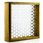 Комплект сит для бетона ЛО-251-1 11 шт, (полотно металлотканое, обечайка и поддон квадартные деревянные), фото 2