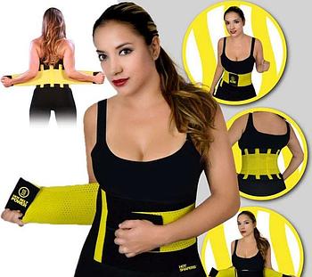 Корсет Hot Shapers Belt. Пояс для схуднення, фітнесу та тренувань (стягуючий корсет)