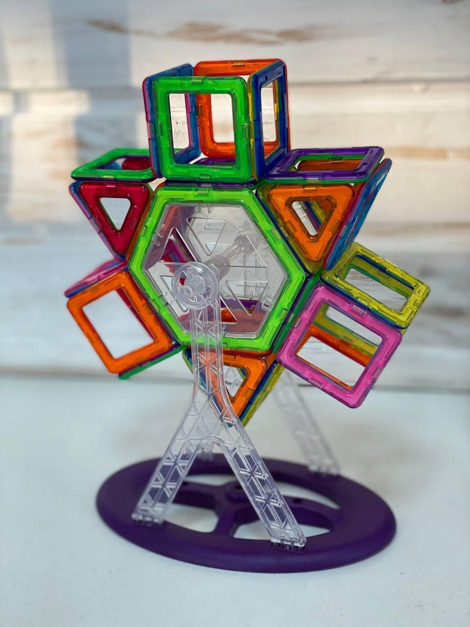 Конструктор дитячий Magic Magnetic магнітний, транспорт JH8612