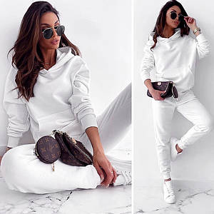 Белый спортивный костюм (Код MF-504)