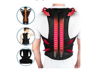 Універсальний коректор постави Back Pain Need Help Чорний