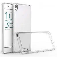 Чехол силиконовый прозрачный для Sony Z5