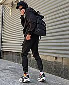 Мужские брюки-карго Пушка Огонь Angry Flash XL молодежные черные штаны cargo весна подростковые брюки карго
