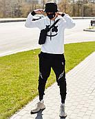 Мужские брюки-карго Пушка Огонь Angry Flash XXL молодежные черные штаны cargo весна подростковые брюки карго