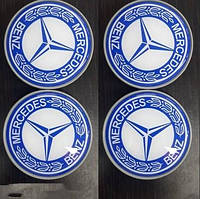 Mercedes E-klass W211 Колпачки в титановые диски 55 мм (4 шт)