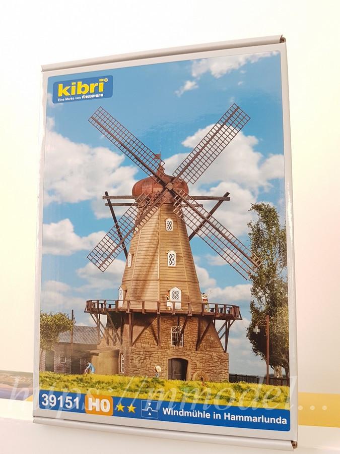 Kibri 39151 Сборная модель ветряной мельницы, масштаба 1/87, H0