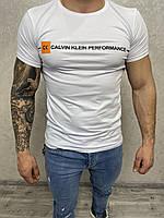 Чоловіча біла футболка Calvin Klein
