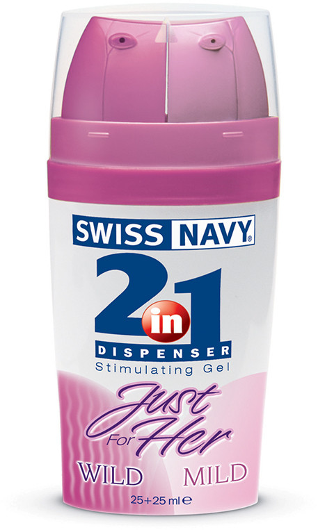 Лубрикант 2 в 1 Swiss Navy 2-IN-1 Just for Her MD Science - (T250975)