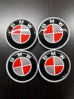 BMW 3 серия E-90/91/92/93 2005-2011 гг. Колпачки в титановые диски V1 (4 шт) 64,5 мм