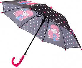 Зонт-трость Kite Kids полуавтомат Черный (K20-2001-1)