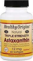 Астаксантин Healthy Origins Astaxanthin (Complex) AstaPure® 12 мг 60 капсул Знижка! (231896)