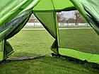 Шатер Tramp Lite Mosquito оливковый TLT-033. Палатка шатер с москитной сеткой. Садовый павильон с москиткой, фото 9