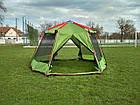 Шатер Tramp Lite Mosquito оливковый TLT-033. Палатка шатер с москитной сеткой. Садовый павильон с москиткой, фото 10
