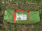 Шатер Tramp Lite Mosquito оливковый TLT-033. Палатка шатер с москитной сеткой. Садовый павильон с москиткой, фото 4