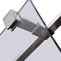 Держатель стекла (Е) с креплениями, 100мм