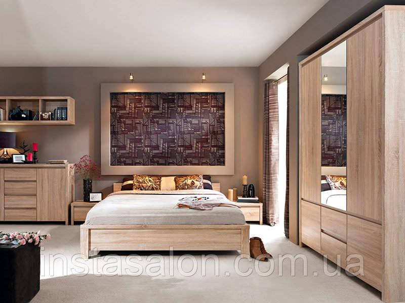 Спальня Каспиан Дуб Сонома
