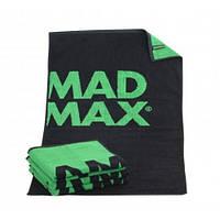 Рушник MadMax MST 002 чорний зелений
