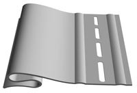 Стартовый профиль 3,8м для сайдинга винилового Docke (Дёке)