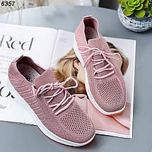 Красивые кроссовки на высокой подошве 6357 (ВБ), фото 3