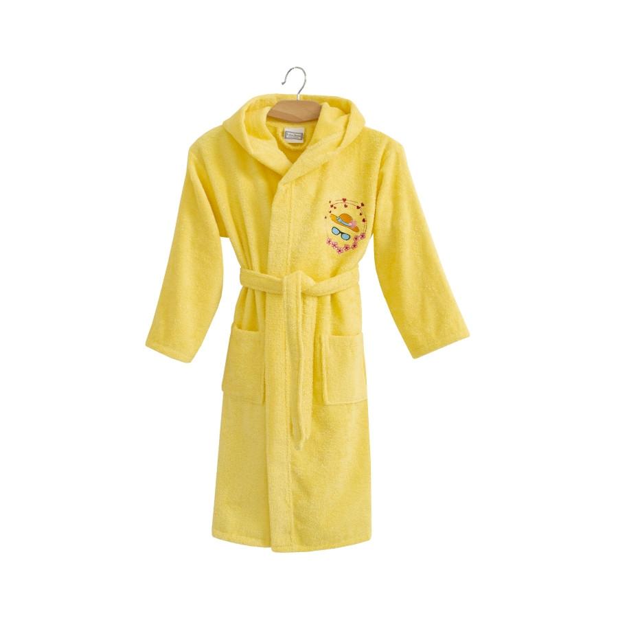 Халат дитячий Lotus - Hat 9-10 років жовтий
