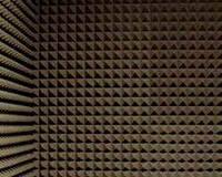 Акустический поролон «пирамида» лист 1х2м толщина 70мм тёмно-серый