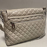 Стильна сумочка із натуральної шкіри, фото 3
