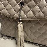 Стильна сумочка із натуральної шкіри, фото 5