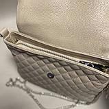 Стеганая сумочка из натуральной кожи, фото 4