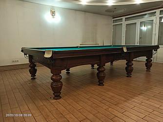 Бильярдный стол Динарис спортивный 12ф бу