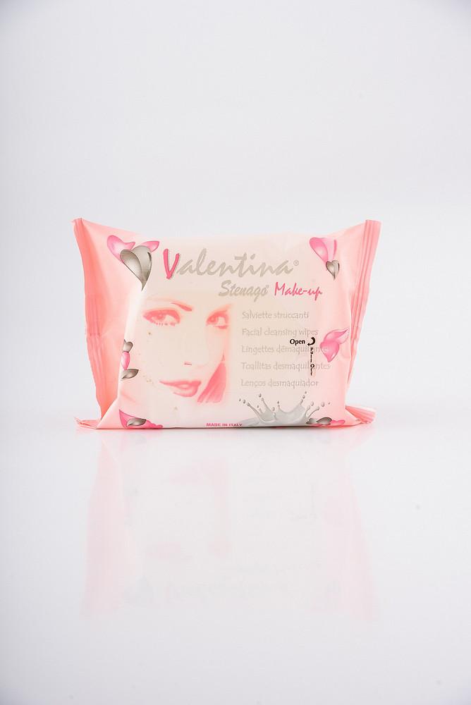 Valentina Вологі серветки для зняття макіяжу - 20 шт.