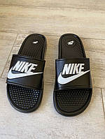 Шлепки Nike Slide Sandal Logo Black