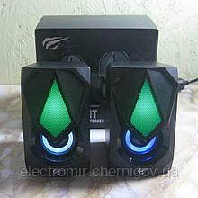 Колонки компьютерные игровые с подсветкой Havit HV-SK563