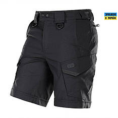 M-tac мужские шорты черные aggressor lite