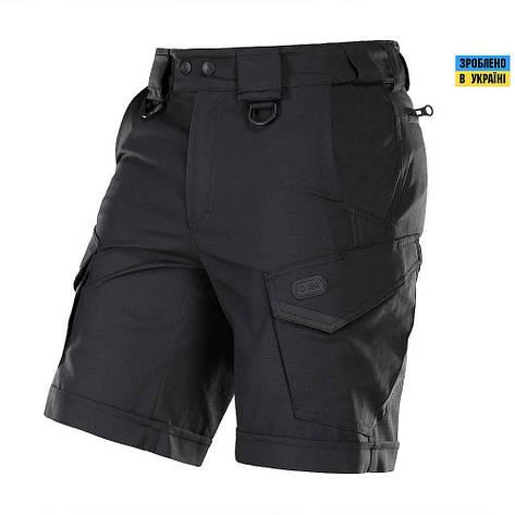 M-tac мужские шорты черные aggressor lite, фото 2