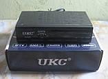 Цифрова Т2 приставка з підтримкою Wi-Fi адаптера UKC T2-0968, фото 3