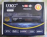 Цифрова Т2 приставка з підтримкою Wi-Fi адаптера UKC T2-0968, фото 5