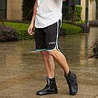 Гумові бахіли на взуття від дощу Lesko SB-108 Чорний L (6302-21182), фото 4