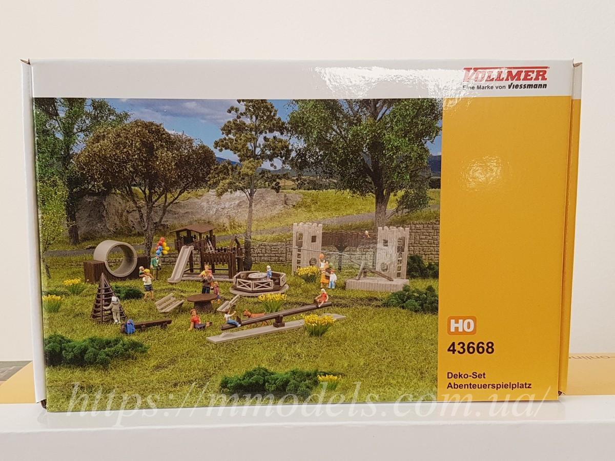 Vollmer 43668 Аксесуари для моделювання - дитячий майданчик, масштабу 1/87, H0