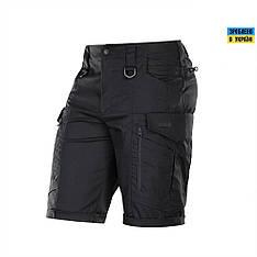 M-tac мужские шорты черные conquistador flex (black)
