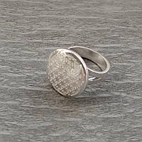 """""""Цветок Жизни"""" кольцо из серебра 925 пробы"""