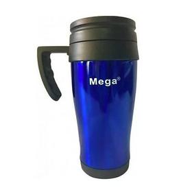 Термокружка MEGA PR040 з ручкою 400 мл, Синій