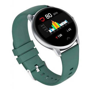Смарт-годинник Xiaomi Imilab Smart Watch Imi KW66 Green/Silver, фото 2