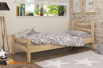 Кровать односпальная деревянная Рената МФ Wellmebely