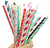Трубочки бумажные