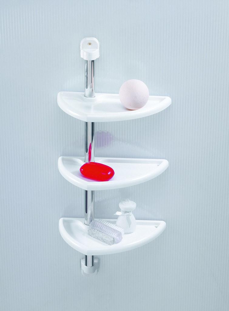 Полка для ванной PrimaNova N16-01 Белый