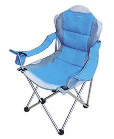 Кресло раскладное Sunday для отдыха с подлокотниками до 120 кг (73-765)