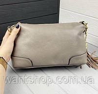 Женская кожаная сумка. Сумочка женская из натуральной кожи, сумка для девушек на каждый день, фото 10