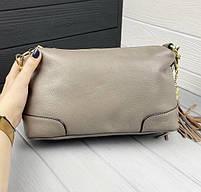 Жіноча шкіряна сумка. Сумочка жіноча з натуральної шкіри, сумка для дівчат на кожен день, фото 10