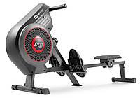 Гребной тренажер аэромагнитный до 135 кг Hop-Sport HS-065AR Talon Gray серый