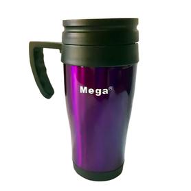 Термокружка MEGA PR040 з ручкою 400 мл, Фіолетовий